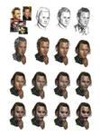 Heath Ledger into Joker