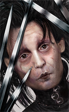 Edward Scissorhands by DeletedSeen