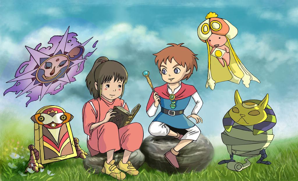 Ni no kuni X Spirited Away by DeletedSeen