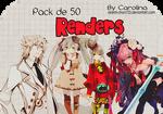 Pack 50 renders