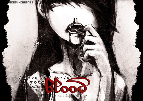 Taste of your blood by akemi-chan723