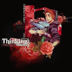 Thinking Zombirella by akemi-chan723