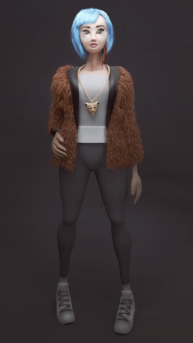 Fashionable Lady by VanillaBear3600