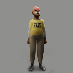 Russel Sketchfab Link and Speedpaint