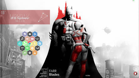 Batman and Harley by TheJ0ker33
