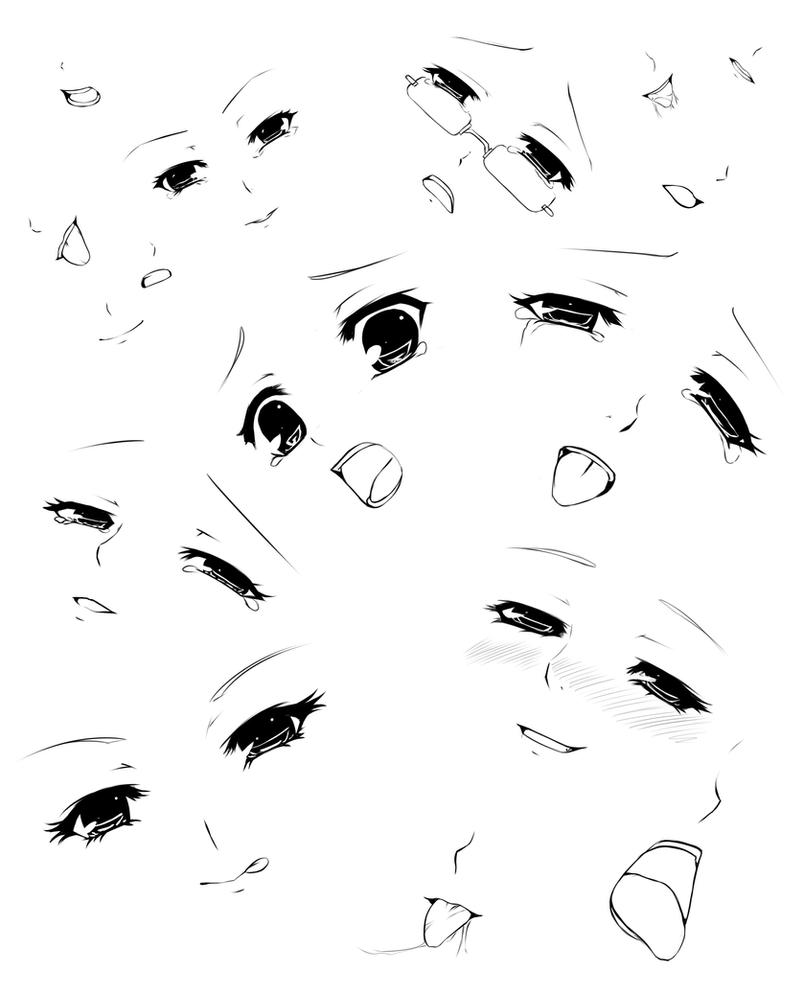 Expressions And Mouths By Forgotten Wings