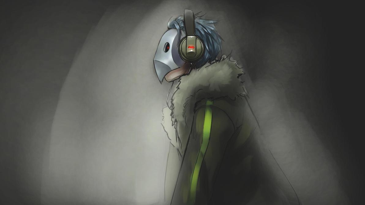 Headphones by forgotten-wings