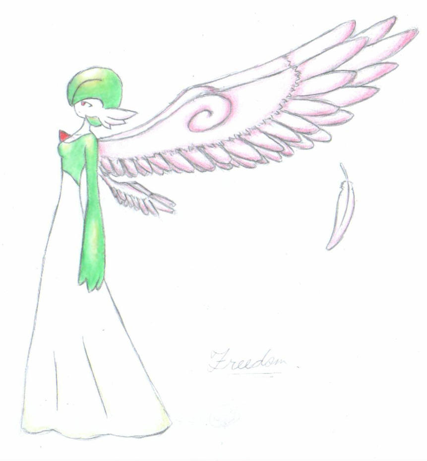 Freedom the Gardevoir by livinlovindude