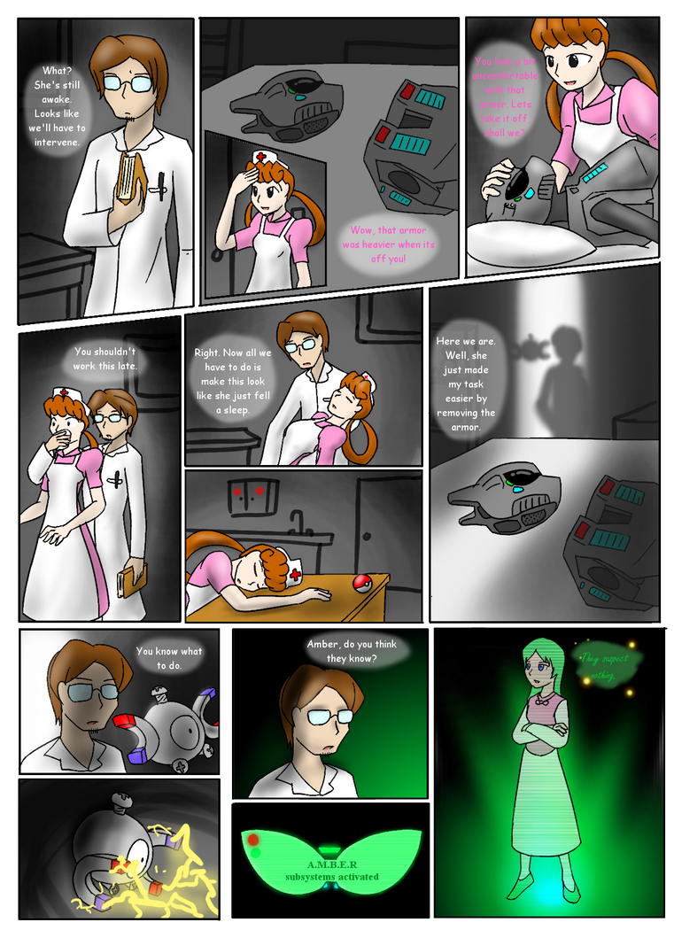 Project Red recreation: pg.13 by livinlovindude