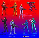 Seven sins of Red vs Blue