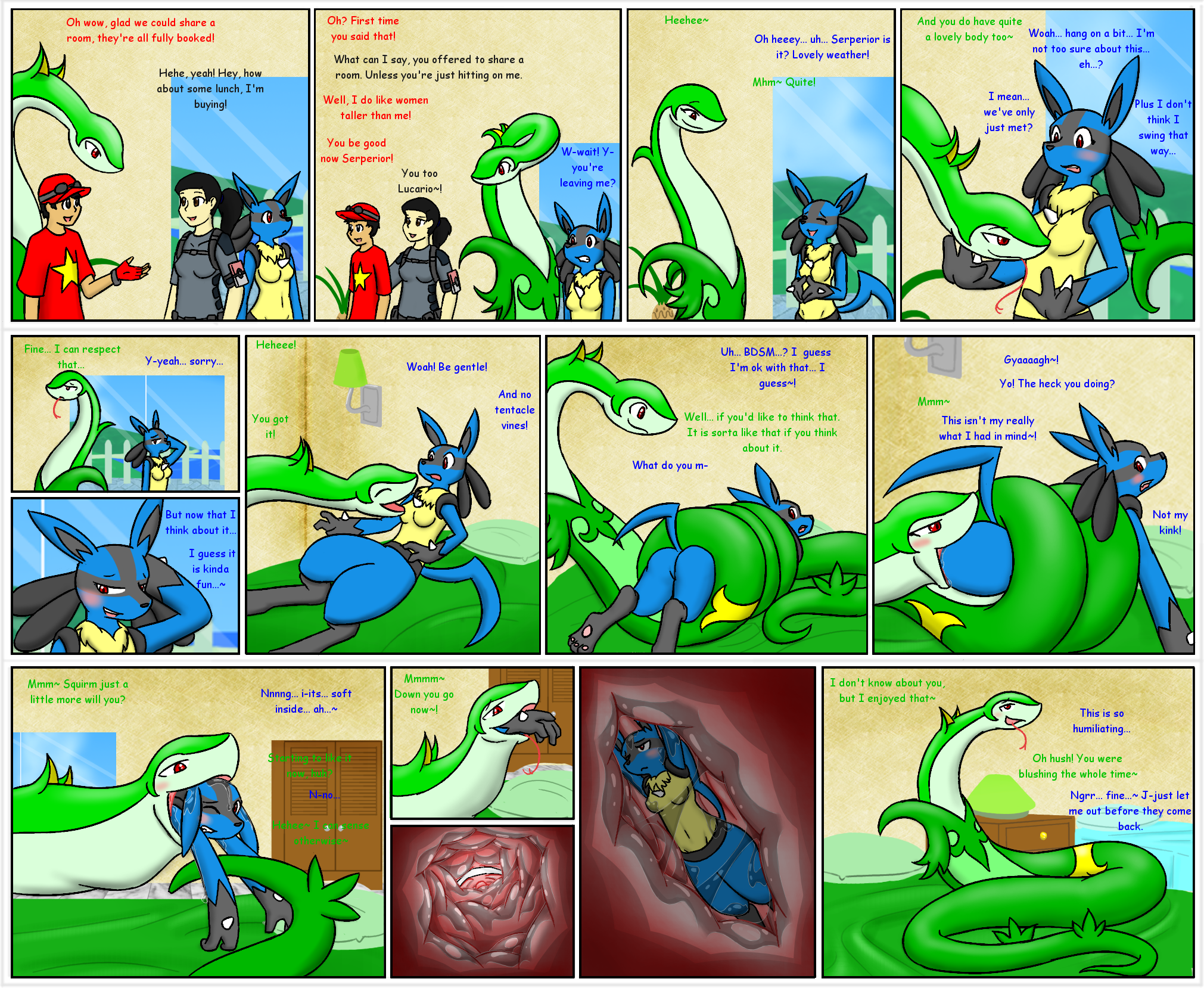 Here be dragons: a short story