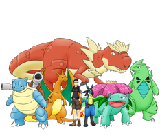 Mariah's pokemon party by livinlovindude
