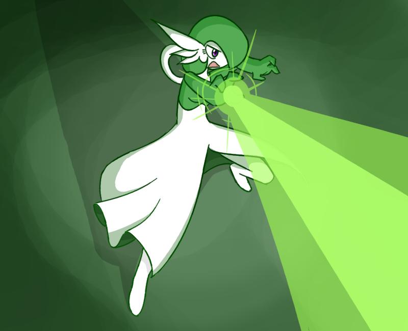 Green death beam! by livinlovindude