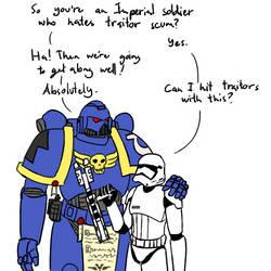 Imperials hate traitors by livinlovindude