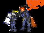 Judy  and Nick riot training