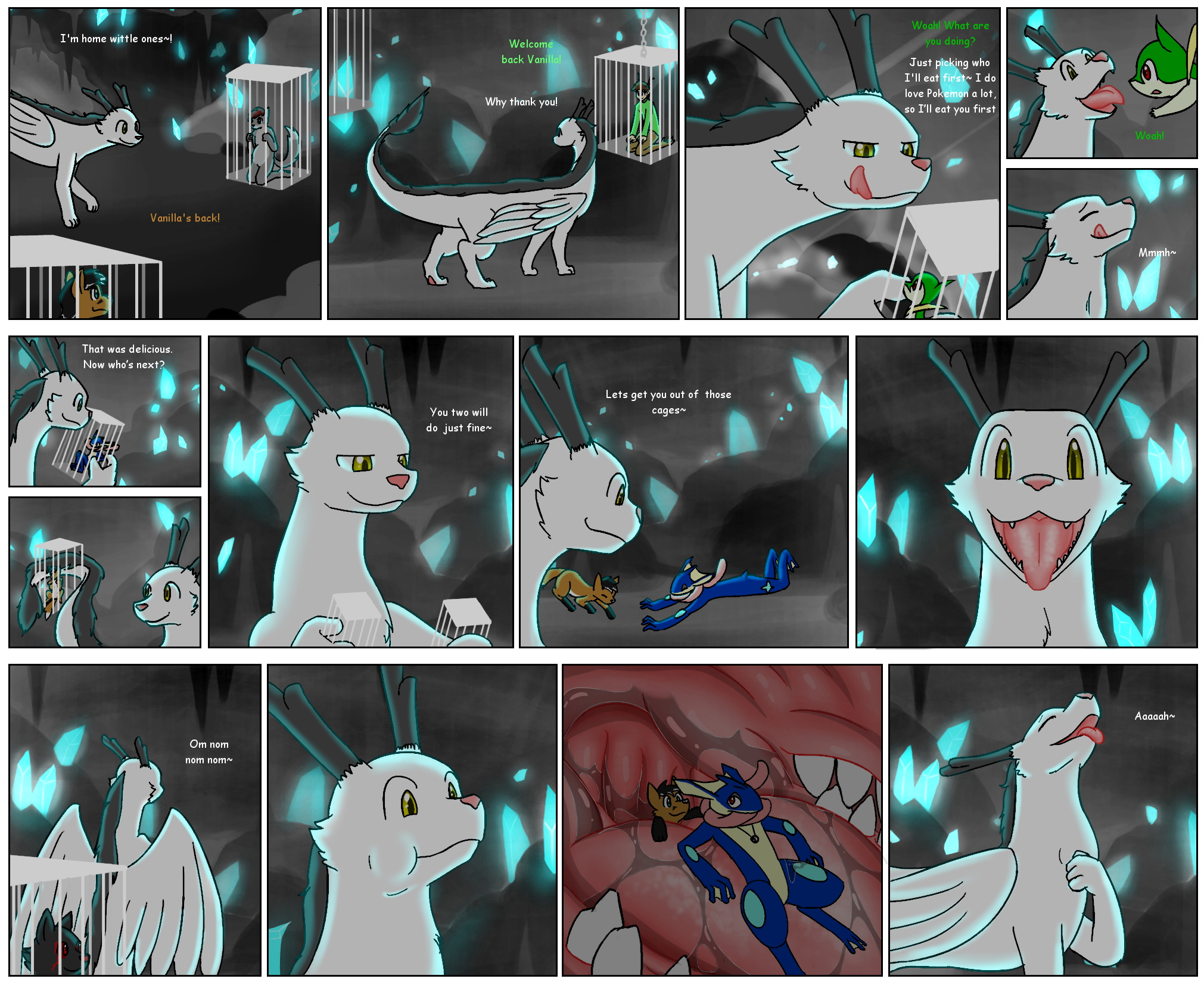 Dragon vore animation adult image