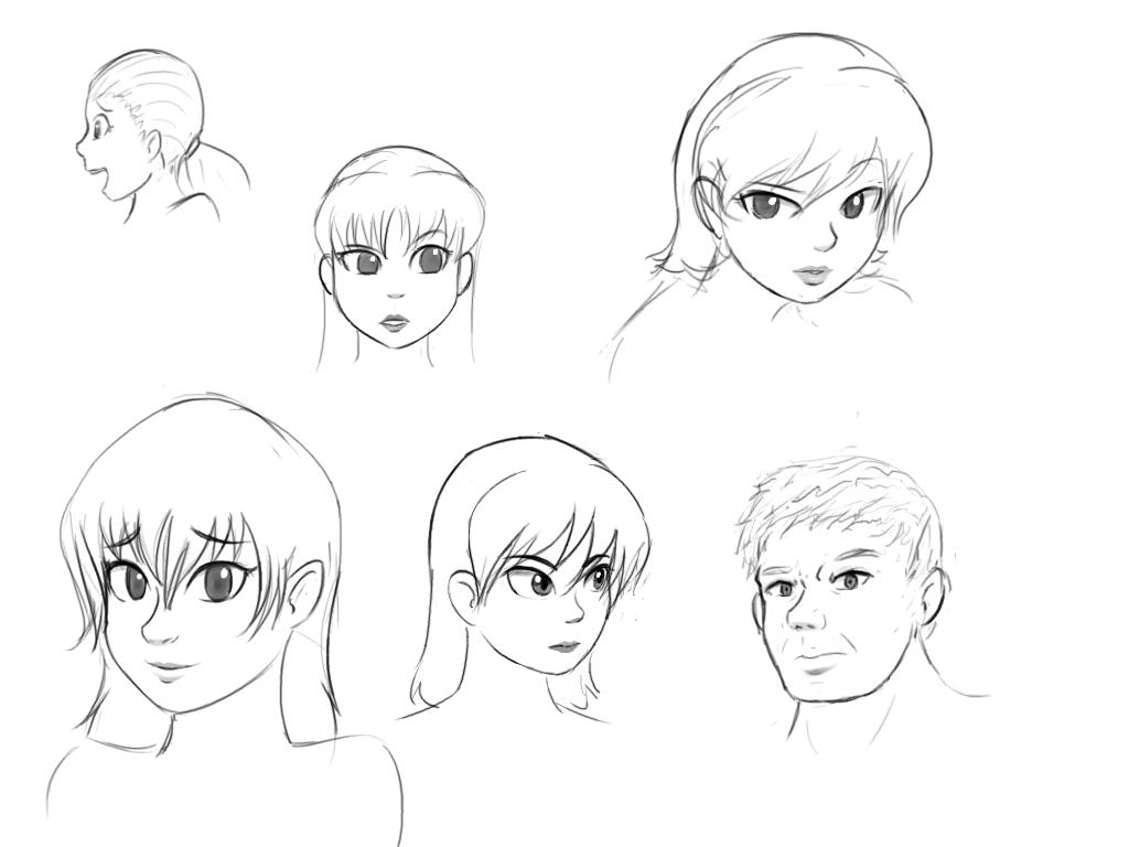 more faces by livinlovindude