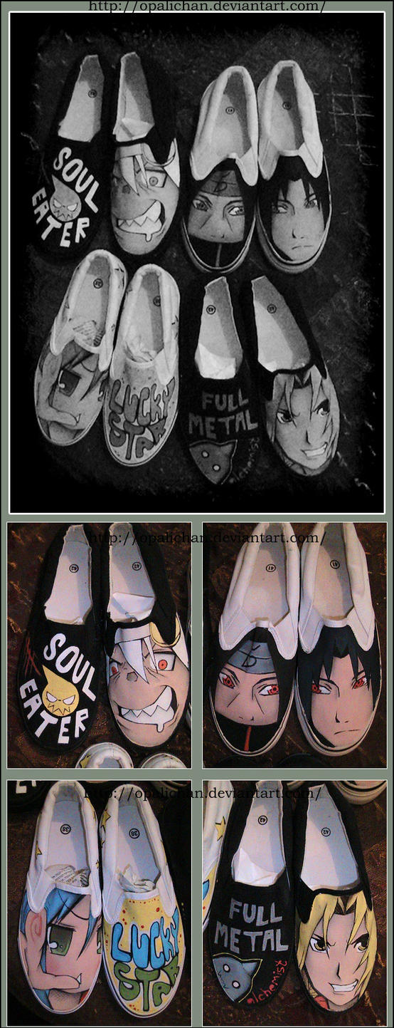 Anime shoes2 by OpaliChan