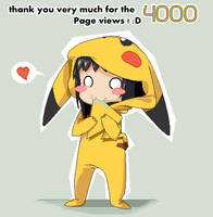Thank chu for 4000 X3 by OpaliChan