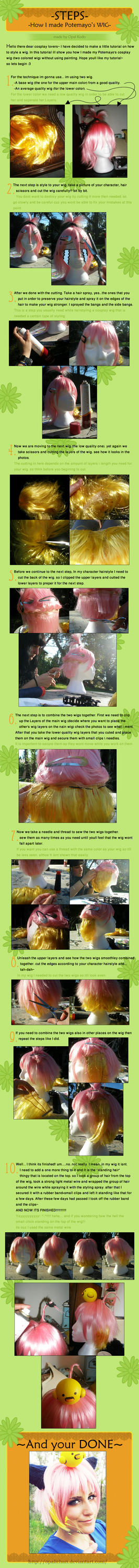 How to style a wig: Potemayo by OpaliChan