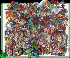 heroes v villains compilation2 by JayMaverick