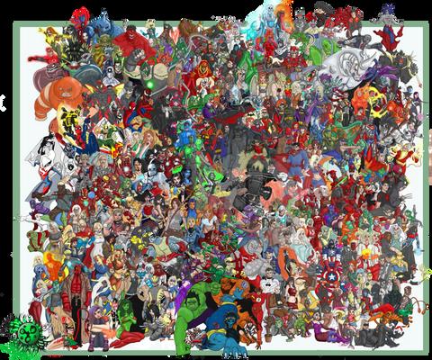 heroes v villains compilation2