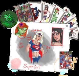 Supergirl Head2 by JayMaverick