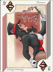Playing Card Zatanna Zatara by JayMaverick