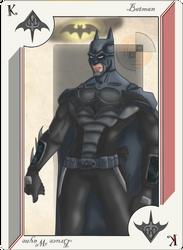 Playing Card Batman by JayMaverick