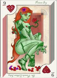 Playing Card poison ivy by JayMaverick