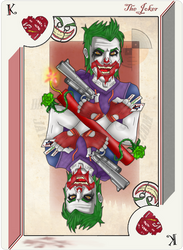 Playing Card Joker by JayMaverick