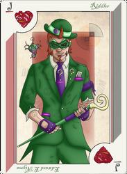 Playing Card Riddler by JayMaverick