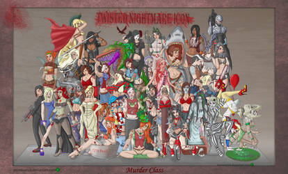 Horror Girls Twisted Nightmare Icon 2