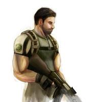 Resident Evil 5 - Chris by zekitty