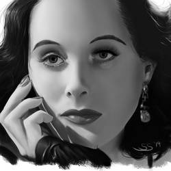 Hedy Lamarr by FnkMstr74