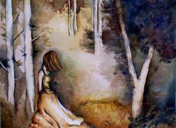 Birch Trees by chris-tel