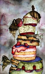the wedding cake. by chris-tel