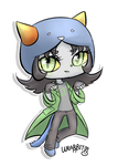 Nepeta Pagedoll chibi by thewrabbithole