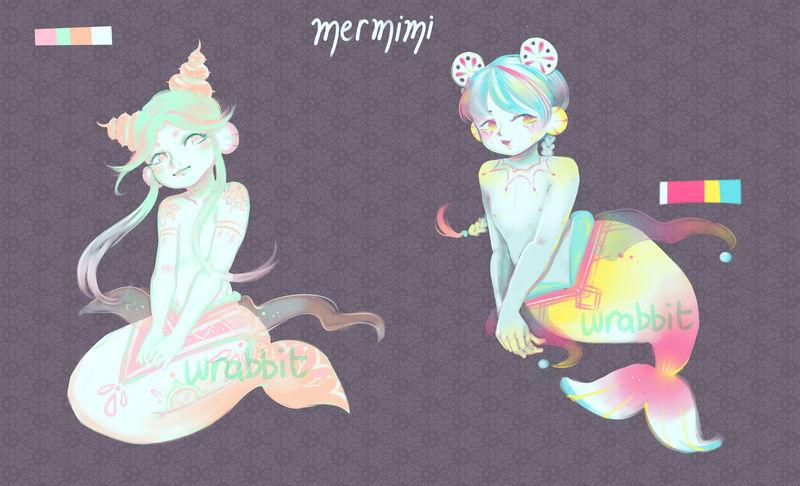 Mermimi B4 (closed) by thewrabbithole