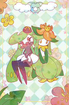 Tsareena and Lilligant