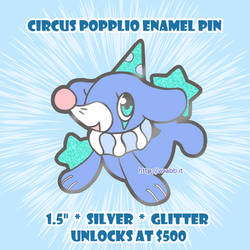 Circus Popplio Pin