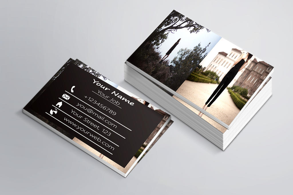Photography Business Card Template By Banism On DeviantArt - Photography business card templates