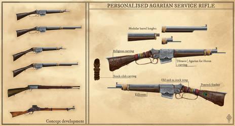 Personalized service rifle concept