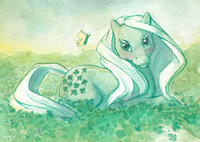 Luck is all around you by AnnaPommes