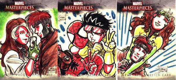 Marvel Artist Proof Cards II by OptimusPraino
