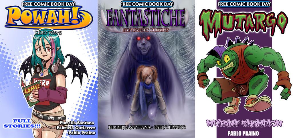 FREE COMIC BOOK DAY by OptimusPraino
