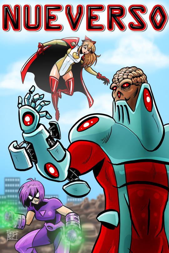 Nueverso Cybernetic Menace by OptimusPraino