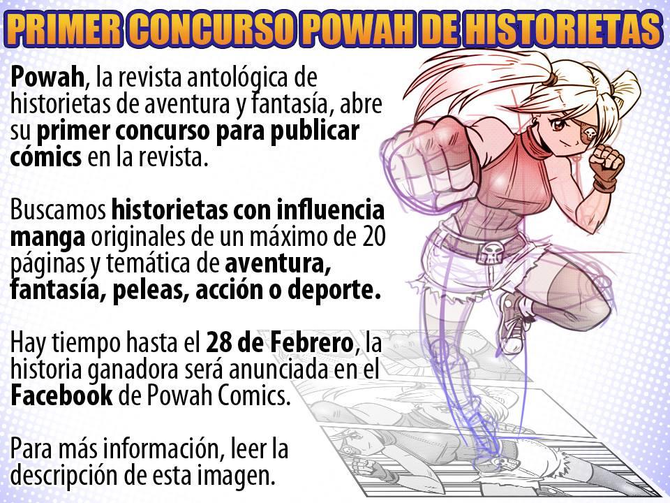 Concurso de Historietas Powah! by OptimusPraino