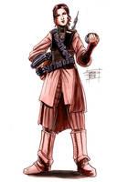 Leia Organa as Boussh by OptimusPraino