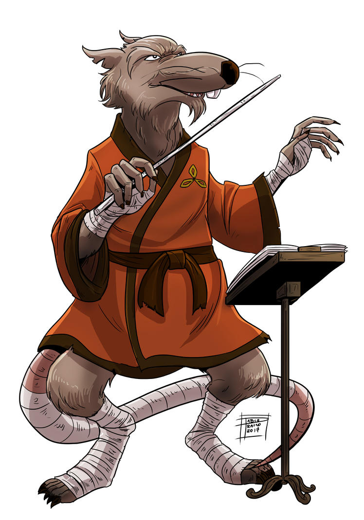 Master splinter by optimuspraino on deviantart - Rat tortues ninja ...